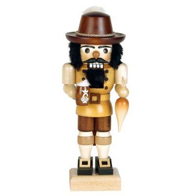 Christian Ulbricht 10-Inch Bavarian Nutcracker Figurine in Natural