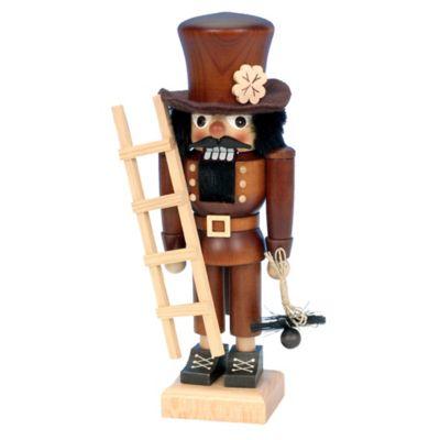 Christian Ulbricht 10.5-Inch Chimney Sweep Nutcracker Figurine in Natural