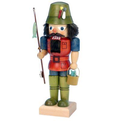 Christian Ulbricht 10-Inch Fisherman Nutcracker Figurine