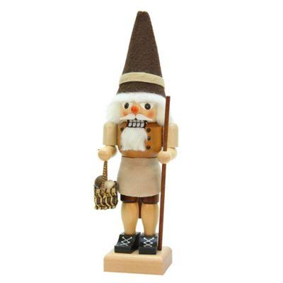 Christian Ulbricht 12-Inch Mushroom Picker Nutcracker Figurine
