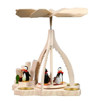 10.5-Inch Penguins Pyramid Kinetic Sculpture