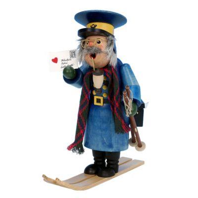 Christian Ulbricht 10.5-Inch Postman with Skis Incense Burner