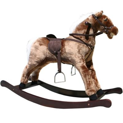 Rocking Horse in Brown with Sound Effects