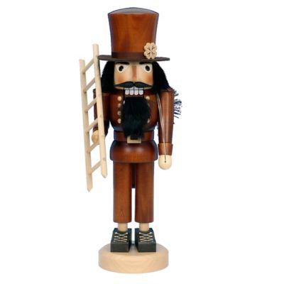 Christian Ulbricht 16.5-Inch Chimney Sweep Nutcracker Figurine in Natural