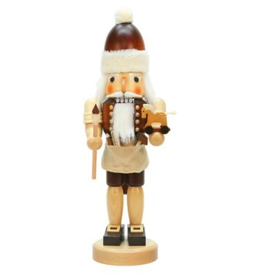 Christian Ulbricht 17-Inch Santa with Toys Nutcracker Figurine