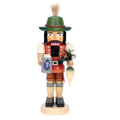 Christian Ulbricht 16-Inch Bavarian Nutcracker Figurine in Multi