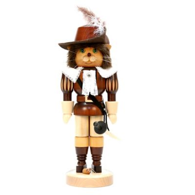 Christian Ulbricht 15-Inch Puss in Boots Nutcracker Figurine