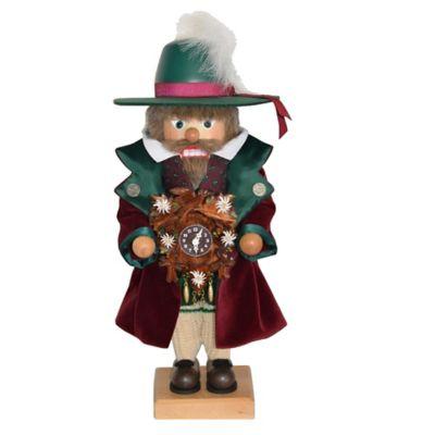 Christian Ulbricht 18-Inch Clock Maker Limited-Edition Nutcracker Figurine