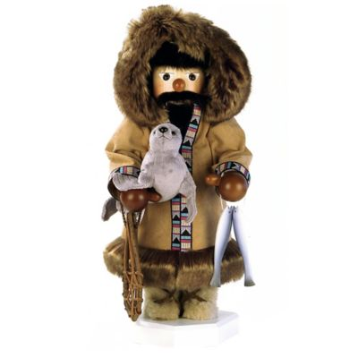 Christian Ulbricht 16.5-Inch Eskimo Santa Limited-Edition Nutcracker Figurine
