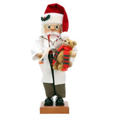Christian Ulbricht 19-Inch Doctor Santa Limited-Edition Nutcracker Figurine