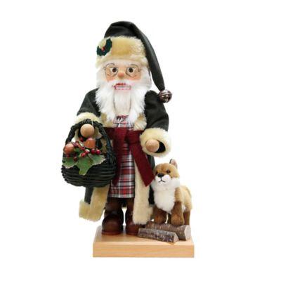 Christian Ulbricht 19-Inch Woodland Santa Limited-Edition Nutcracker Figurine