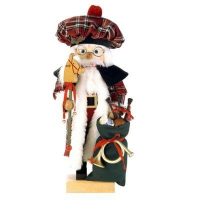 Christian Ulbricht 18.75-Inch Scotsman Santa Limited-Edition Nutcracker Figurine