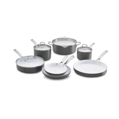 Calphalon® Classic Ceramic Nonstick 11-Piece Cookware Set