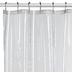 Eco Soft Clear Extra Large Shower Curtain Liner