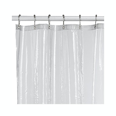 buy clear shower curtains from bed bath beyond