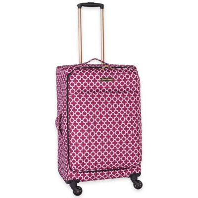 Jenni Chan Aria Broadway 24-Inch Spinner in Cranberry