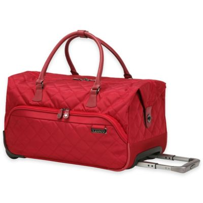 Red Rolling Bag