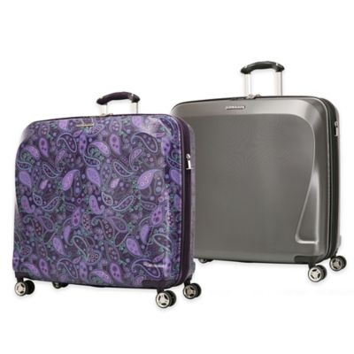Ricardo Beverly Hills® Mar Vista 22-Inch 4-Wheel Expandable Horizontal Pullman in Purple Paisley