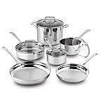 Cuisinart® Kitchen Pro™ Induction Stainless Steel 10-Piece Cookware Set