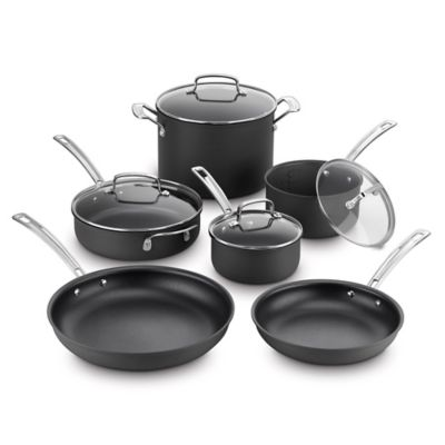 Cuisinart® Kitchen Pro™ Nonstick Hard Anodized 10-Piece Cookware Set