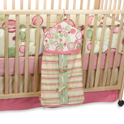 Bubble Gum Diaper Stacker
