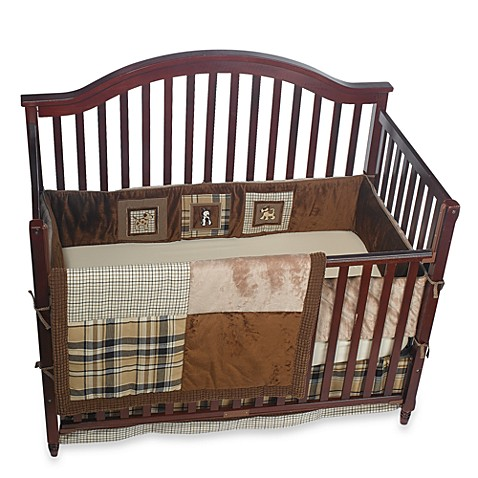 Banana fish spot crib bedding 100 cotton buybuy baby for Fish crib bedding