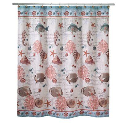 Avanti Seaside Vintage Shower Curtain