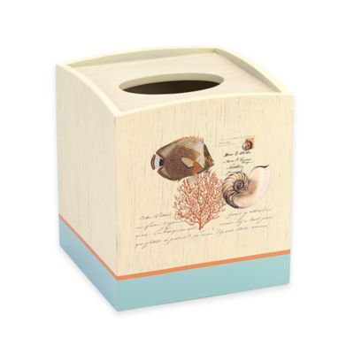 Avanti Seaside Vintage Boutique Tissue Holder
