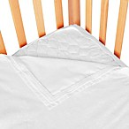 Clouds and Stars™ Quick Zip Zipper Base and Zipper Sheet Set in White