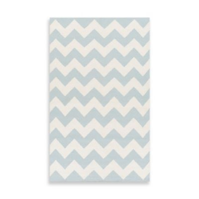 Artistic Weavers York Phoebe 3-Foot x 5-Foot Area Rug in Light Blue