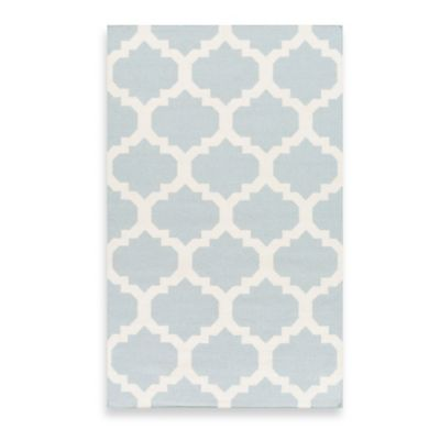 Artistic Weavers York Harlow 9-Foot x 12-Foot Area Rug in Light Blue
