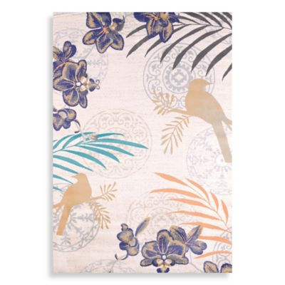 United Weavers Orchid 5-Foot 3-Inch x 7-Foot 6-Inch Area Rug