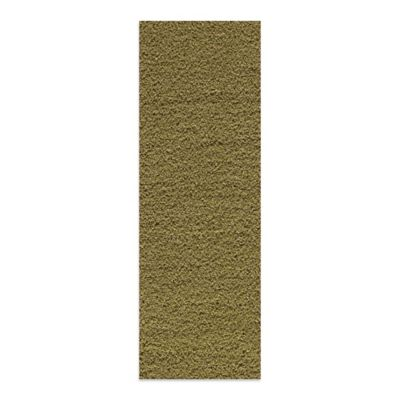 Rugs America Vero Beach 2-Foot 3-Inch x 7-Foot 11-Inch Shag Runner in Lime Green