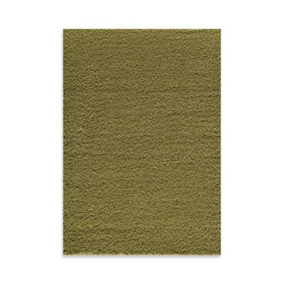 Rugs America Vero Beach 6-Foot 6-Inch Shag Area Rug in Lime Green