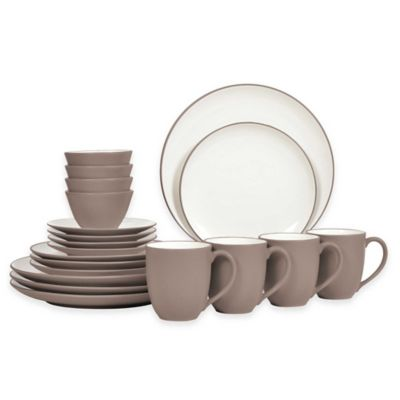 Noritake® Colorwave 20-Piece Coupe Dinnerware Set in Clay