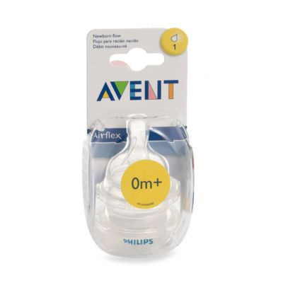 AVENT Newborn Bottle Nipples (Set of 2)