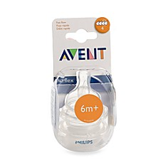AVENT Fast Flow Bottle Nipples (Set of 2)