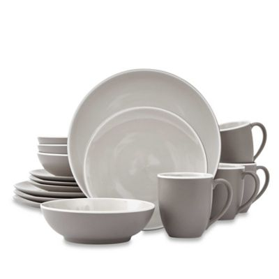 Noritake® ColorTrio 16-Piece Coupe Dinnerware Set in Clay