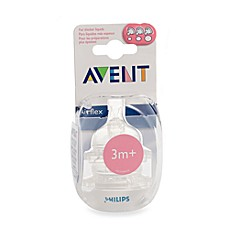 AVENT Variable Flow Bottle Nipples (Set of 2)