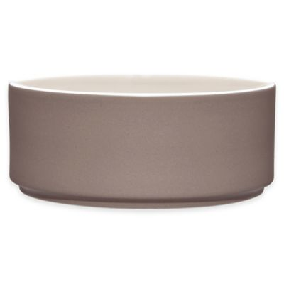 Noritake® ColorTrio Stax Cereal Bowl in Clay