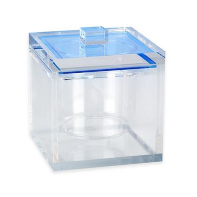 Tinsley Mortimer Madison Ice Bucket in Blue