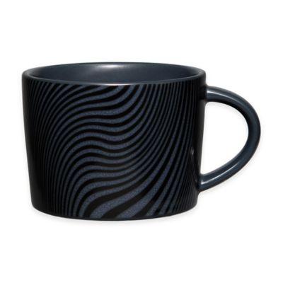 Noritake® Black on Black Dune Cup in Black