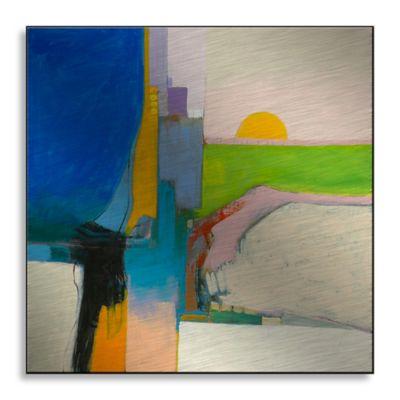 Recall Landscape 36-Inch x 36-Inch Metal Wall Art