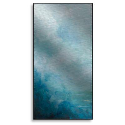Ocean Front I 8-Inch x 16-Inch Metal Wall Art
