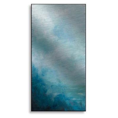 Ocean Front I 12-Inch x 24-Inch Metal Wall Art