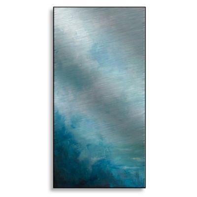 Ocean Front I 18-Inch x 36-Inch Metal Wall Art