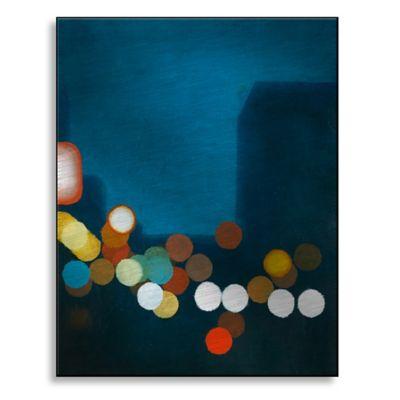 Flashing Lights I 13-Inch x 16-Inch Metal Wall Art
