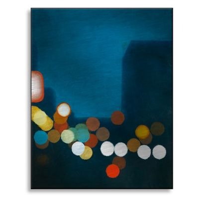 Flashing Lights I 19-Inch x 24-Inch Metal Wall Art