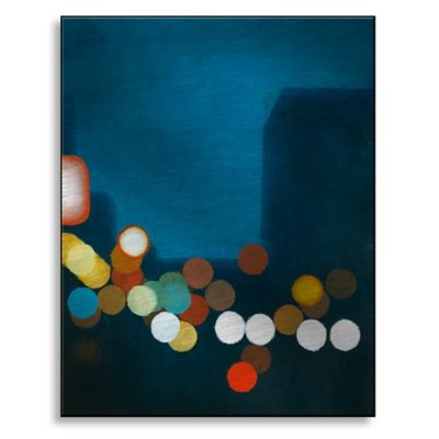 Flashing Lights I 28-Inch x 36-Inch Metal Wall Art