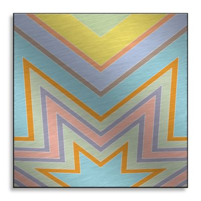 Starburst 36-Inch x 36-Inch Metal Wall Art